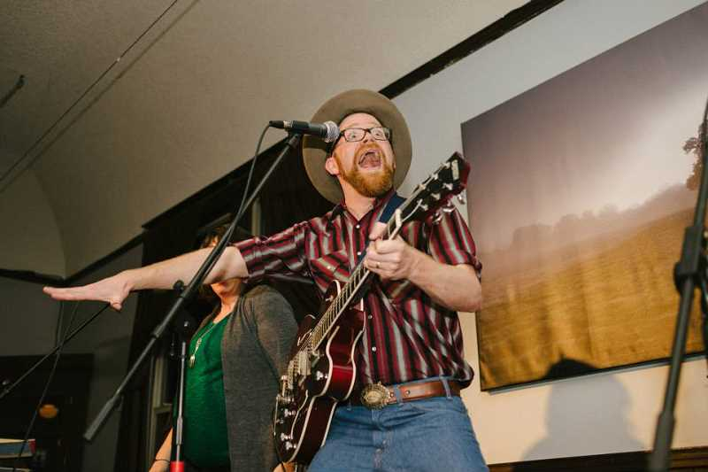 by: SUBMITTED PHOTOS - Red Yarn will share the stage March 16 in the Mountain Park Family Concert. He performs folk music.