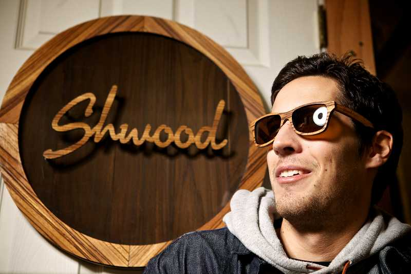 by: TIMES PHOTO: JAIME VALDEZ - Eric Singer, the 28-year-old entrepreneur of Schwood sunglasses, was recently highlighted in Forbes magazines '30 Under 30.' The list recognizes up and comers who have yet to reach age 30 in various fields. His Beaverton company was recognized for achievement in the Art & Style field.