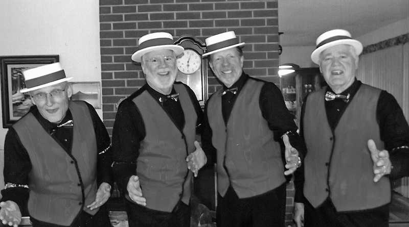 by: NEWS-TIMES FILE PHOTO - The Tualatones, of the Tualatin Valley Harmony Masters, will also compete in Forest Groves signature barbershop contest.
