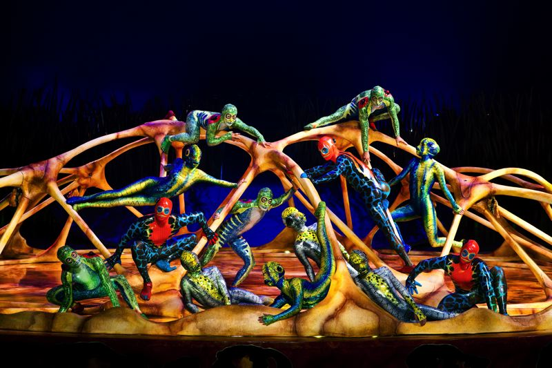 by: PHOTOS COURTESY OF CIRQUE DU SOLEIL - Totem, a journey into the evolution of mankind (see surrounding photos), will be the latest Cirque du Soleil show to visit Portland