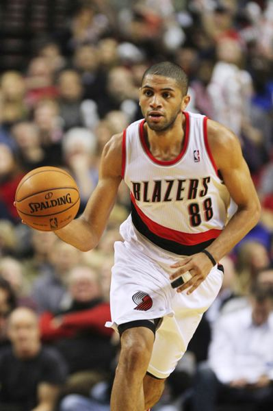 by: TRIBUNE FILE PHOTO: JAIME VALDEZ - Nicolas Batum, Trail Blazers forward, says he has become more consistent and learned a lot about the NBA over his years with Portland.