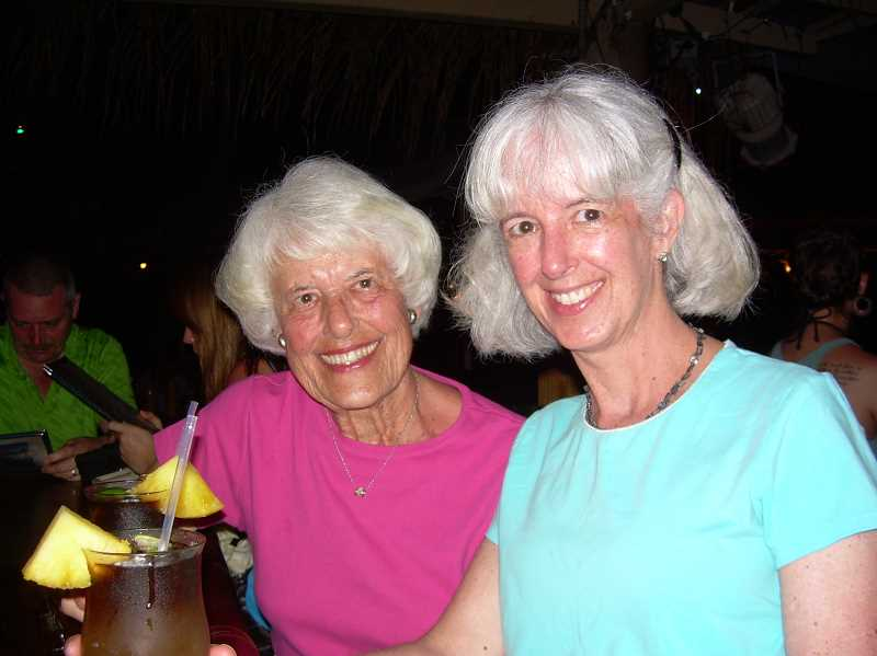 by: SUBMITTED PHOTO - JoAnn Parsons, left, and her daughter, Betsy Fontenot, celebrated Betsys 60th birthday in Hawaii.