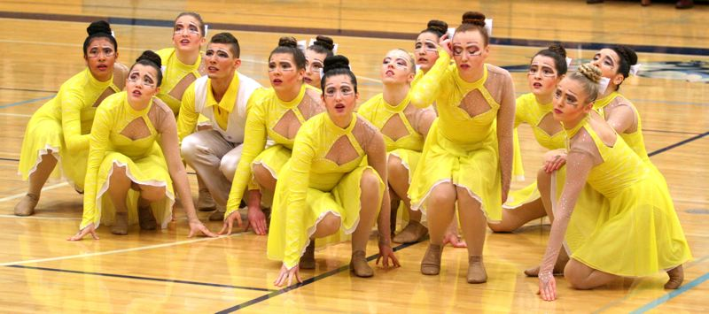 by: JOHN WILLIAM HOWARD - The Scappoose Vision Dance team will perform 'Parting is such sweet sorrow,' a routine inspired by a scene from 'The Great Gatsby,' at the state championships this weekend.