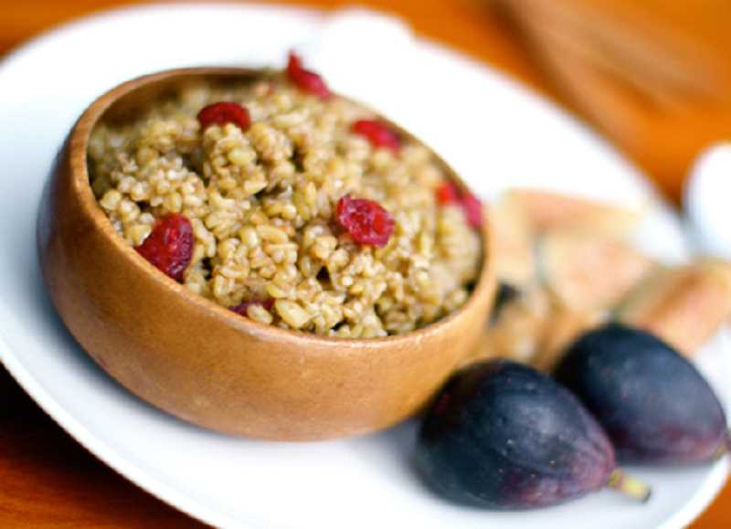 by: SUBMITTED PHOTOS - The ancient grain freekeh can be used in a variety of dishes, including as a breakfast cereal.