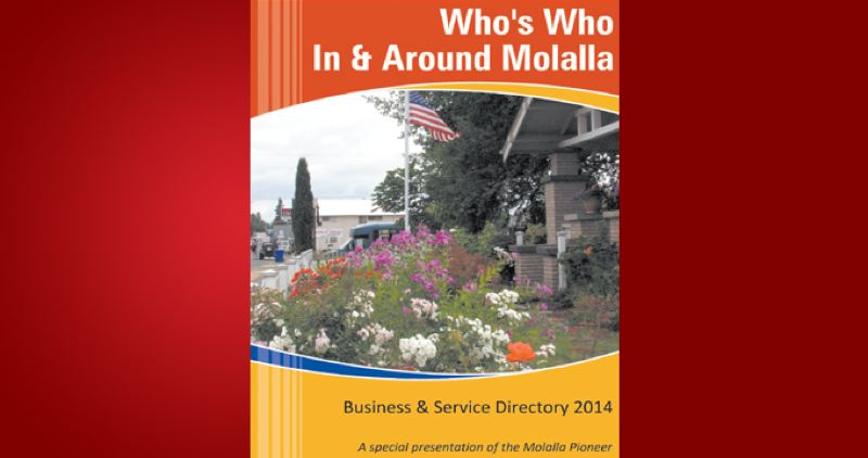 (Image is Clickable Link) by: PMG - Molalla Who's Who 2014