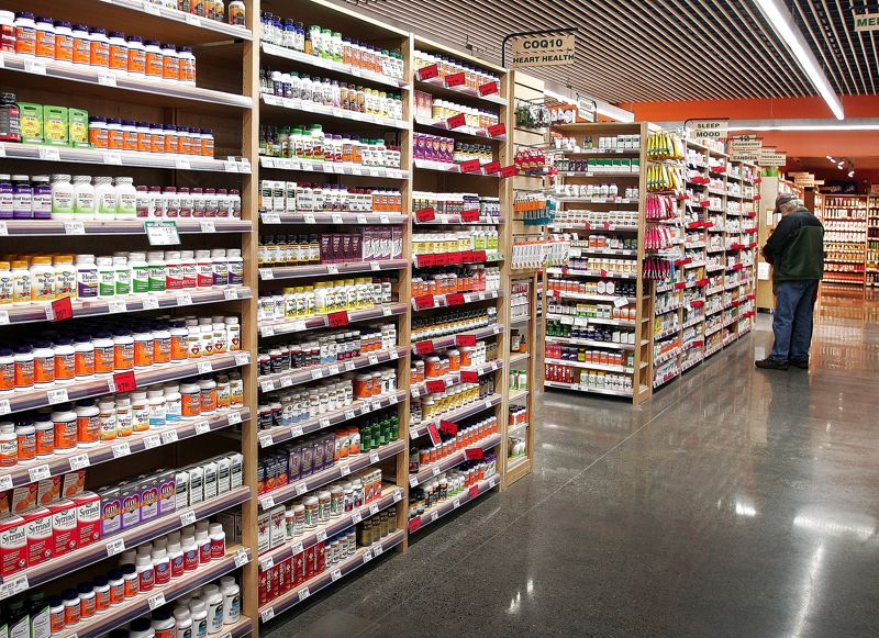 by: OUTLOOK PHOTO: JIM CLARK - The store stocks a large selection of vitamins, dietary supplements and natural body care products. Customers can schedule a consultation with an on-site nutrition coach to personalize a natural approach for their health.