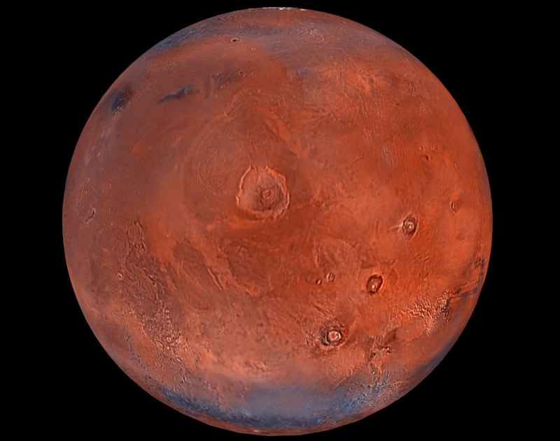 by: CONTRIBUTED PHOTO - Fans of the Sky Theater shows at Mt. Hood Community College will take a virtual journey to Mars next week.