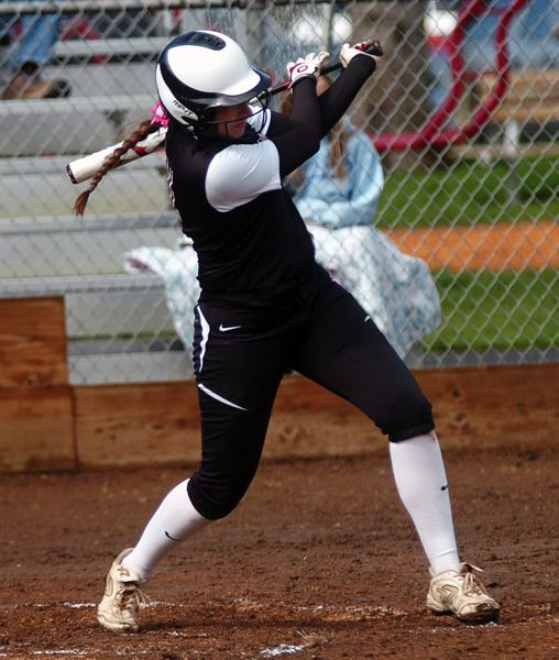 by: DAN BROOD - SMACK -- Sherwood senior Hannah Zwieg had three hits in the Lady Bowmen's 10-5 win over Summit on Tuesday.