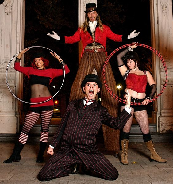 by: COURTESY OF UMBRELLA FESTIVAL - The Wanderlust Circus, which includes Noah William Batty Mickens, is a highlight of the growing Umbrella Festival at Alberta Rose Theatre.