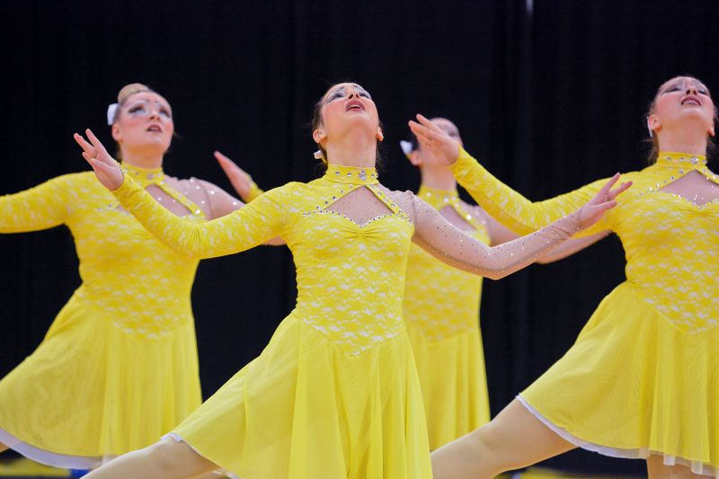 by: JOHN WILLIAM HOWARD - The Scappoose Vision Dance team performed their 'Great Gatsby' inspired routine at the state dance finals on Marh 21 and 22 at the Memorial Coliesum in Portland. Sickness hampered the team, causing them to fall from first to sixth place.