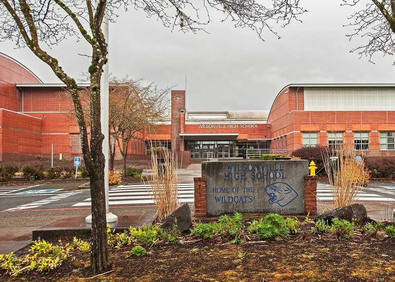 by: SPOKESMAN PHOTO: JOSH KULLA - Wilsonville High school is a four-year comprehensive school with about 1,158 students and 53 certified staff members. Approximately 70 percent of graduates attend a two- or four-year college.