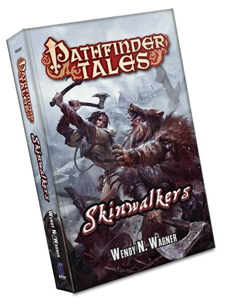 by: WENDY WAGNER - Book cover of 'Skinwalkers.'