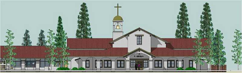 by: COURTESY PHOTO - The new St. Alexander parish design is based on a planned unit development, which combines eight parcels into one.