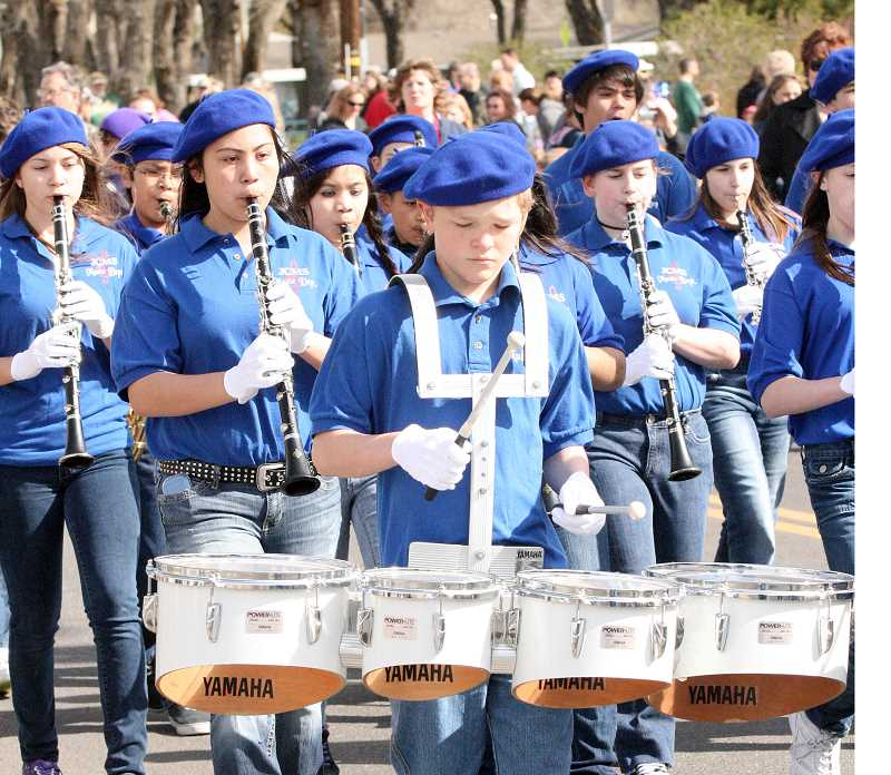 by: FILE PHOTO - The Jefferson County Middle School Band will be part of the parade at Sahalee Park.