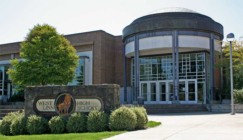 by: SUBMITTED FILE PHOTO - West Linn High school is a four-year comprehensive school with about 1,600 students, 81 certified staff members and an average class size of 31.