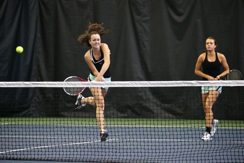 by: TIMES FILE PHOTO - Jesuit senior Darby Rosette will be joined by Meghana Rao on the Crusaders top doubles team this season.