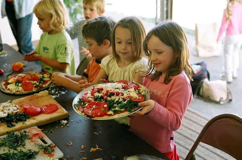 by: SUBMITTED PHOTO - Kids can learn to cook with Chef Laura Content at Luscher Farm this spring