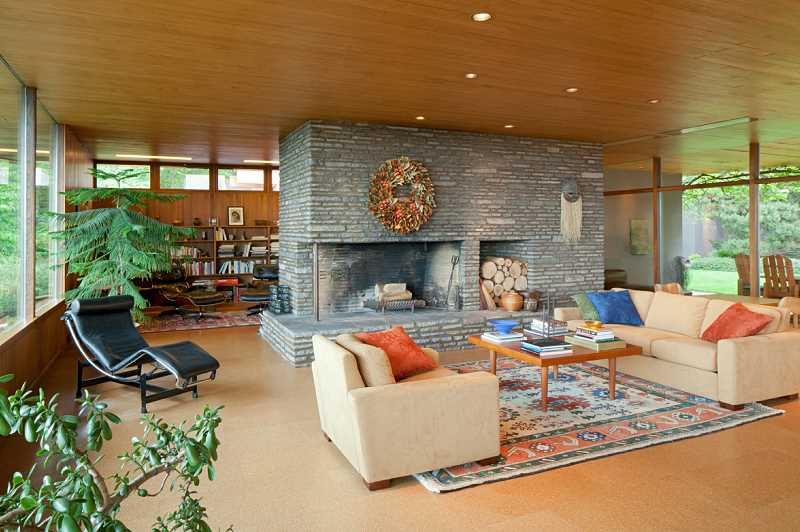 by: SUBMITTED PHOTO: SALLY PAINTER - Step inside six homes designed by Pietro Belluschi, including his own residence, which has been lovingly restored, during the Mid-Century Modern Home Tour, a fundraiser for Restore Oregon on May 10 in Portland.