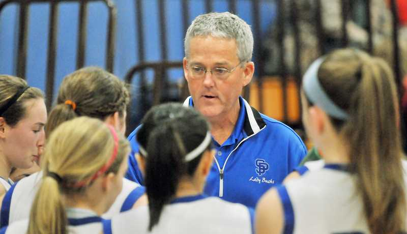 by: FILE PHOTO - Calling it a career -- Mike Murphy is retiring from coaching after 14 seasons leading the St. Paul girls basketball program. In that span, Murphy won more than 300 games and led the Bucks to the 1A state tournament 11 times, winning the title in 2007.