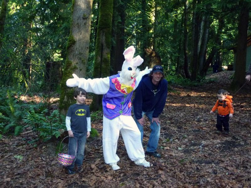 by: CONTRIBUTED PHOTO - Kids also can get their photo taken with the Easter bunny at the event.