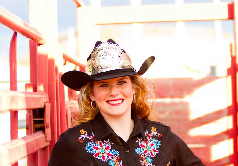 by: CONTRIBUTED PHOTO - 2014 Crooked River Roundup Queen Megan Hopper.