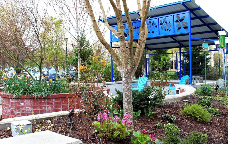 by: OUTLOOK PHOTO: CARI HACHMANN - Legacy Mount Hoods healing gardens provide a peaceful environments for patients and visitors. An educational event will take place in the garden Tuesday, April 15.