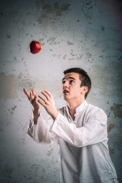 by: SUBMITTED PHOTO: OWEN CAREY - Tristan Comella plays Jonas in Oregon Childrens Theatres production of The Giver.