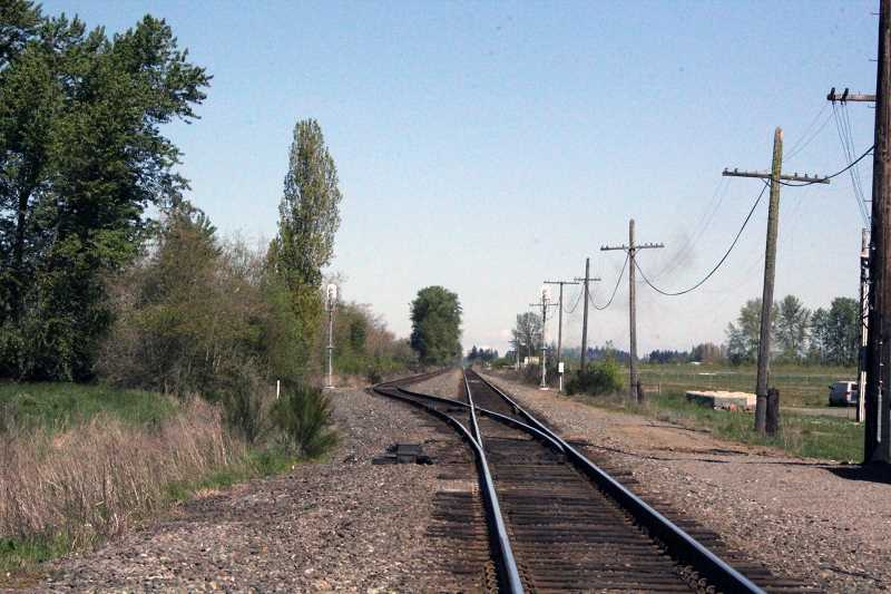 by: TYLER FRANCKE | WOODBURN INDEPENDENT - Local officials are exploring the possibility of constructing a walkway between Woodburn and Gervais that would increase railroad safety.