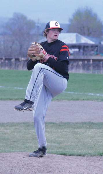 by: JEFF WILSON/THE PIONEER - Adam Knepp produced another solid outing on Monday, but the Bulldogs couldn't score runs.