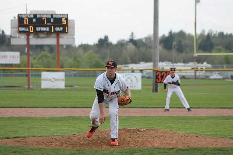 by: JIM BESEDA - Keaton Franco on the mound Tuesday.