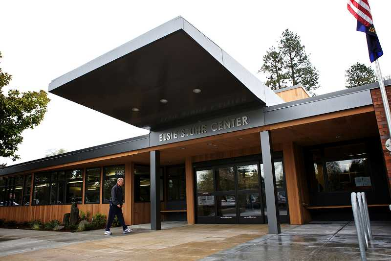 by: TIMES FILE PHOTO: JAIME VALDEZ - Tualatin Hills Park and Recreation District leaders are considering the possibility of patrons ages 35 and older using the popular Elsie Stuhr Center during low-use times.