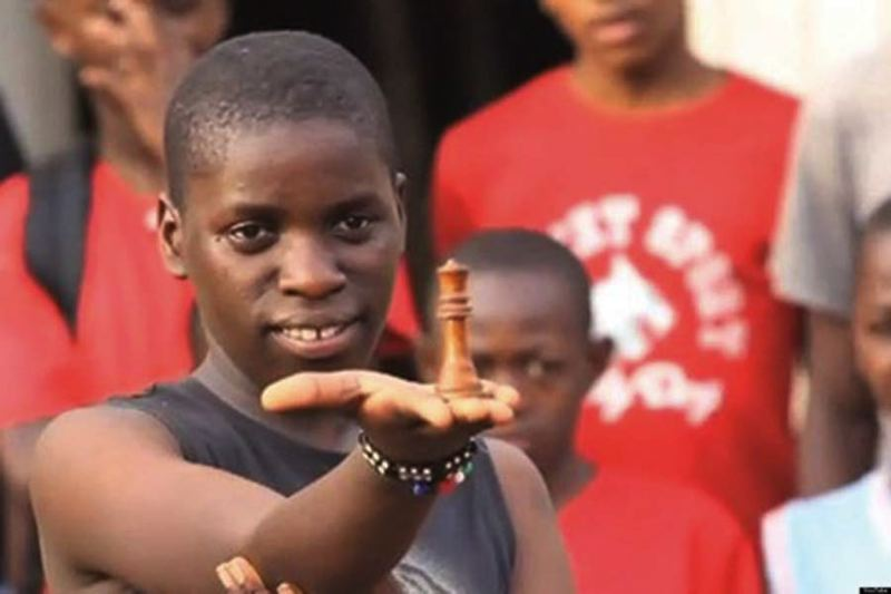 by: COURTESY OF ENTERTAINING VENTURES - Ugandan chess champion Phiona Mutesi will visit Portland this weekend.