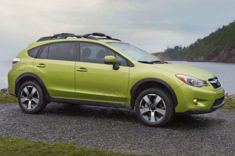 by: SUBARU OF AMERICA, INC. - The 2014 Subaru XV Crosstrek Hybrid could be the ideal car for the Pacific Northwest.