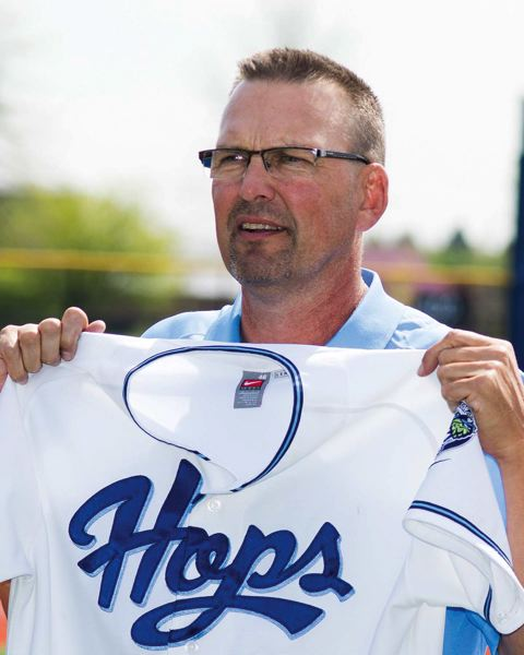 by: PAMPLIN MEDIA GROUP: CHASE ALLGOOD - Mark Grace, former MLB All-Star, takes over as hitting coach of the Class A Hillsboro Hops this season.