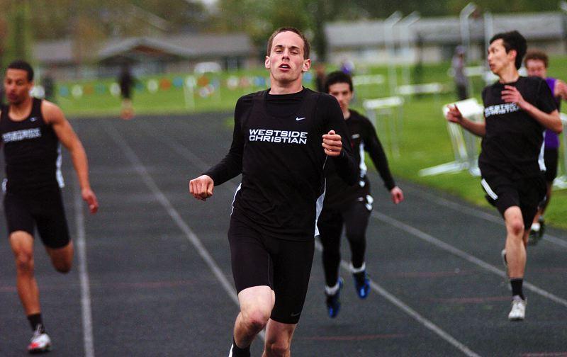 by: DAN BROOD - SUPER SPRINTER -- Westside Christian's Jacob Sturtevant picked up a win in the 200.