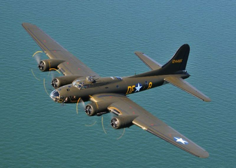 by: COURTESY PHOTO - The Memphis Belle, a Boeing B-17 bomber from World War II, will be at the Hillsboro Airport May 3-4 for public tours.