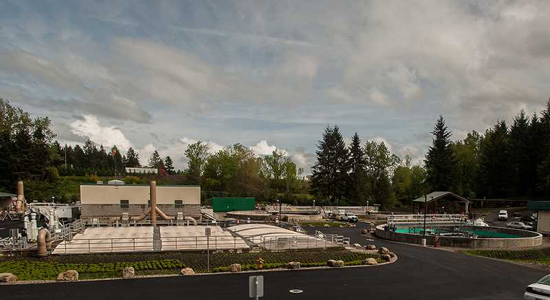 by: SPOKESMAN PHOTO: JOSH KULLA - Wilsonville's new wastewater plant replaces a facility that was built in the 1970s.