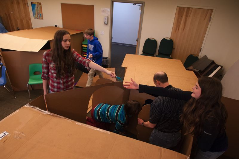 by: SPOKESMAN PHOTO: JOSH KULLA - A reality check is how one youth group member described the 30 Hour Famine fundraising effort, in which participants go 30 hours without food while also collecting food and money for those in need.