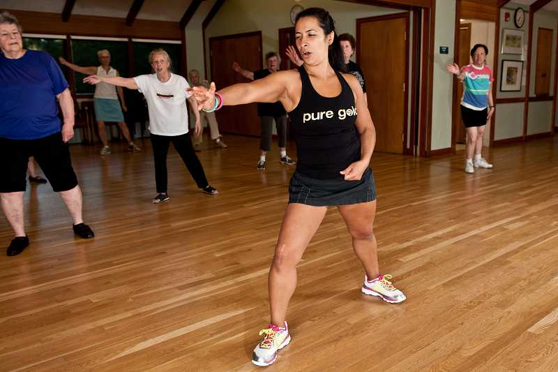 by: SUBMITTED PHOTO  - Zumba is one of the many classes offered through Lake Oswego Parks and Rec. Sign up now for a new series of classes.