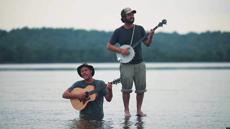 by: SUBMITTED PHOTO - The Okee Dokee Brothers will present a family concert at 7 p.m. Sunday at Mountain Park Rec Center.