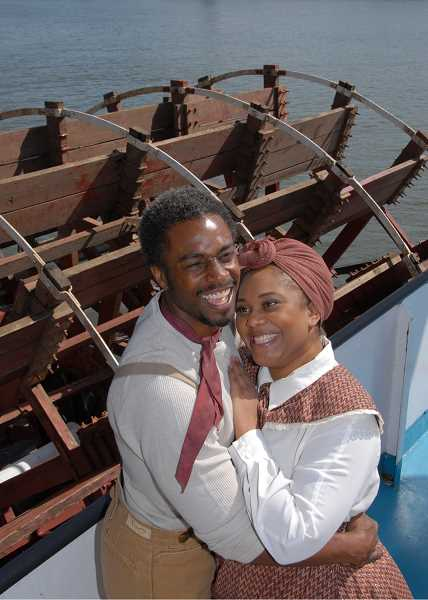 by: SUBMITTED PHOTO: TRIUMPH PHOTOGRAPHY - Geoffery Simmons as Joe and Carmen Brantley-Payne as Queenie in Lakewood Theatre Companys production of Show Boat.