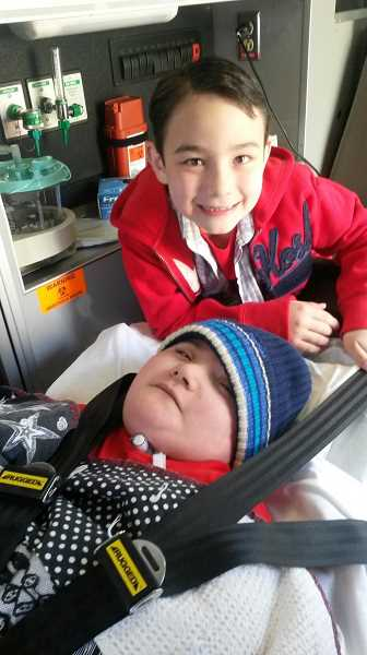 by: SUBMITTED - Hubbard twins Chase (with hat) and Cruz Gutierrez celebrated their eighth birthday April 19.