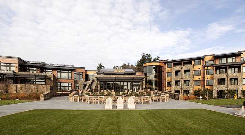 by: SUBMITTED - Green ambitions - The Allison Inn and Spa has seen numerous awards this year. Most recently was second 'greenest' hotel in the Unites States.