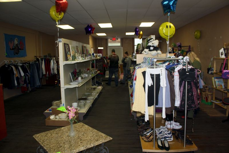 by: POST PHOTO: KYLIE WRAY - The Thrifty Dollar is the display space Shawna always wanted.