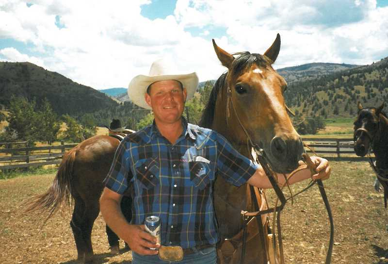 The rodeo is held in memory of the late Tom Green, pictured with his horse, who was a big supporter of ag-related youth programs.