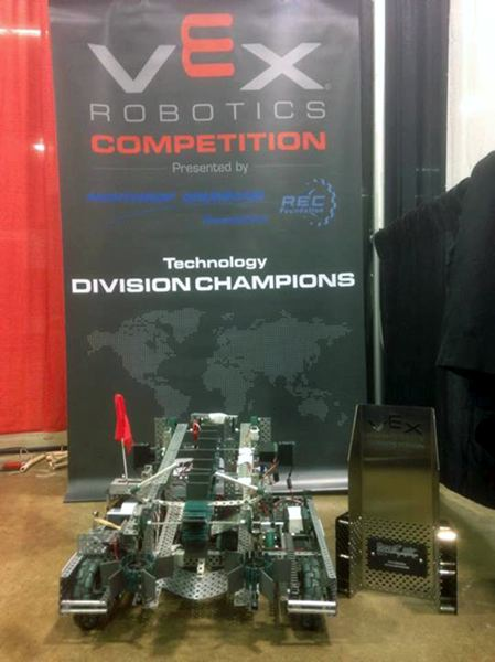 by: CONTRIBUTED PHOTO - Sandy Robot 1460J was named champion of the competitions technology division and went on to place fourth overall.