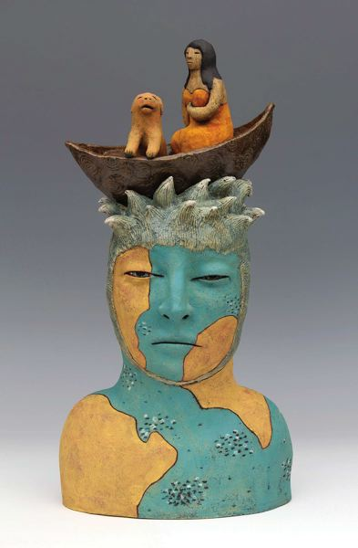 by: COURTESY OF CERAMIC SHOWCASE - Sara Swinks Crossing is part of the annual Ceramic Showcase, May 2-4 at Oregon Convention Center.