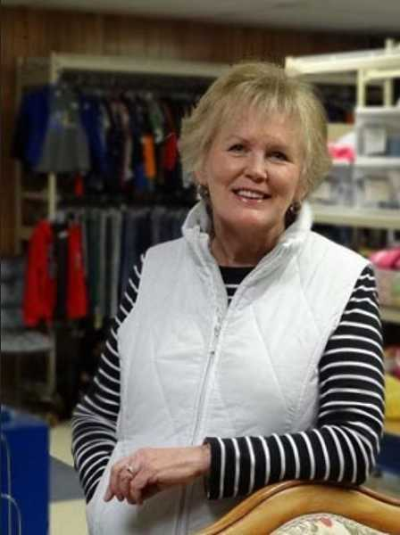 by: TIMES PHOTO: JONATHAN HOUSE - Marilyn Hassmann has been director of The Caring Closet at Tigard High School since 1999.