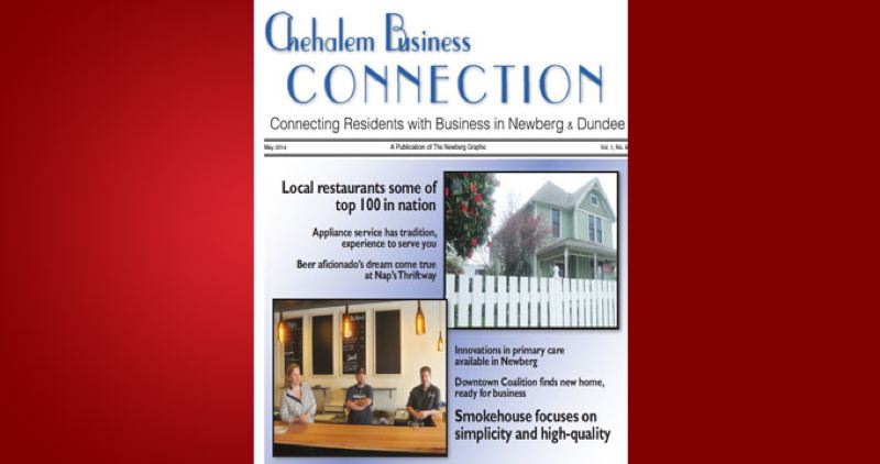 (Image is Clickable Link) by: PMG - Chehalem Business Connection May 2014