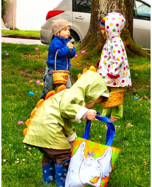 by: RITA A. LEONARD - The race to collect Easter Eggs is on!